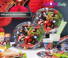 Browse through and discover a whole host of Kids Party Decorations! All you need at great prices!