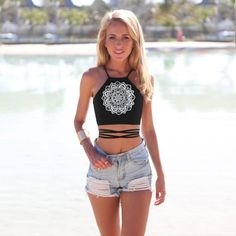 Mandala Tribal Top