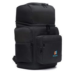 MOJECTO Backpack Cooler - Two Insulated Compartment. Heavy Duty 1000D Fabric, High Density Foam Insulation, Heat Sealed Thick Peva Liner, Multiple Large Pockets, Strong Zippers, Padded Straps. * You can get more details by clicking on the image. (This is an affiliate link)