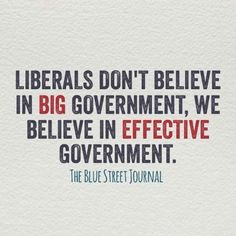 This Should Be Posted Every Time Fox News Announces Liberals Love 'Big Government' | MoveOn.Org