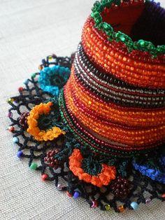 Watsonia Fulgens ... Freeform Crochet by irregularexpressions