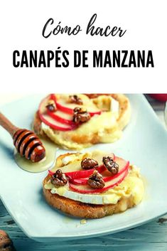 Ideas Para Canapés, Canapes, Gluten, Yummy Food, Breakfast, Ethnic Recipes, Deserts, Meals, Morning Coffee