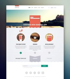 Creative web design with bright | http://amazingwebdesignideas.blogspot.com