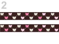 Kunterbuntes Ripsband Herzen        Super schönes Webband mit Herzen     100% Polyester  1,10€/m  Breite: 16mm        Sie kaufen eine von Einheit ,Länge 1,00m x Breite 15mm    direkt von der Rolle    Beim Kauf mehrerer Einheiten liefere ich an einem Stück !