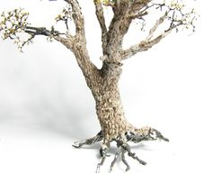 Winter is coming – Realistic trees for wargaming and dioramas part I How To Make Trees, Model Tree, Modeling Techniques, Miniature Furniture, Winter Is Coming, Candle Holders, Miniatures, Scenery, Hobbies