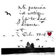 """Tal vez te sentis abrumado/a por los  problemas, las situaciones y circunstancias que estas viviendo. Dios te prometió que Su presencia iría contigo y te daría descanso. Confía, reconócelo en todos tus caminos. Sera un año de oportunidades, desafíos, año de resurrección, restauración, de milagros y maravillas. Dejá atrás lo viejo y toma lo nuevo que Dios preparó para ti. Jesús nunca te desampara, grande es Su fidelidad!  """"Fíate de Jehová de todo tu corazón,  Y no te apoyes en tu propia…"""