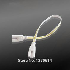 [Visit to Buy] 1pcs, Connector light cable accessories electrical plug terminal adapter socket LED lighting fitting T5 / T8 tube connector #Advertisement