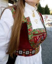 Bilderesultat for villblomsten/bunad Folk Costume, Costumes, Going Out Of Business, Bridal Crown, Mittens, Norway, Sari, Textiles, Celebs