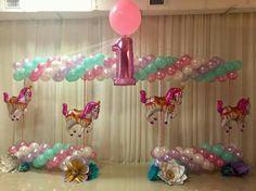 Carousel Balloon Decor