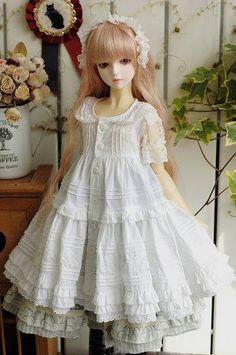 bjd doll.. I think these dolls are so cool and beautiful I think I'll get my daughter some when she's older
