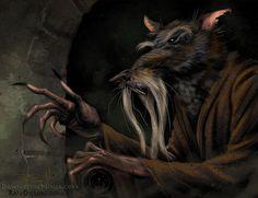 TMNT - Master Splinter concept by RayDillon.deviantart.com on @deviantART