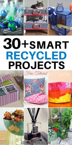 Recycling Projects, Recycle Crafts, Reuse Recycle, Diy Craft Projects, Project Ideas, Craft Ideas, Diy Crafts Hacks, Homemade Crafts, Easy Crafts