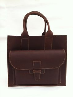 Leather goods designed by Agnes Baddoo.