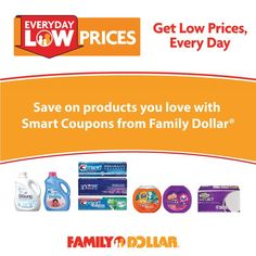 Family Dollar® Introduces the Convenience of Smart Coupons!