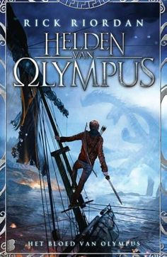 Dutch cover for The Heroes of Olympus, Book 5: The Blood of Olympus, by Rick Riordan.