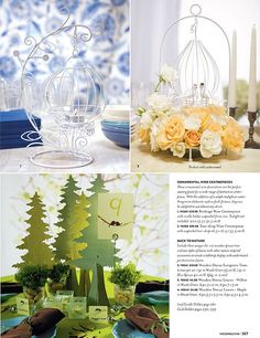 Centerpieces.Reception Accessories.Ceremony Accessories.Products available at our members boutique.Join our free membership to access 3000 wedding accessories.  http://www.bridesadvantageclub.com/Default.aspx?pageId=1475781