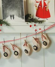 Sewing-Free Mini Stockings, made into an advent calendar here, would also make adorable party favours.