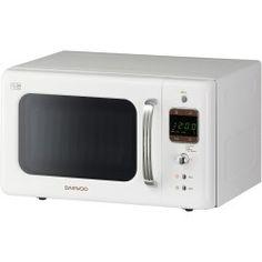 Daewoo KOR7LBKW 20L 800W Freestanding Microwave Oven White