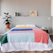 Splash picnic Marta Guillen Hamabi Simple Bed, Cheap Hotels, Baby Play, Double Beds, Red Stripes, Picnic Blanket, Swimming Pools, The Neighbourhood, Things To Come