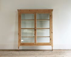 A set of Victorian pine hanging shelves - Decorative Collective
