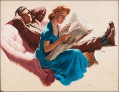 Story illustration by Arthur Sarnoff. JM.
