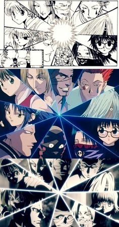Phantom Troupe comparison   Manga   1999   2011   ~Hunter X Hunter