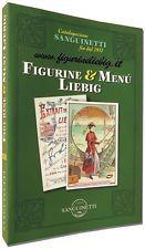 Catalogo Figurine e Menù Liebig XII Ediz. Sanguinetti S.a.S. Chromo Lotto Stock