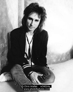 John Waite, great singer/songwriter. Loved him when he was in The Babies, Bad English and as a solo artist