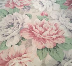 A personal favorite from my Etsy shop https://www.etsy.com/listing/520178527/cannon-fieldcrest-floral-percale-twin