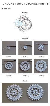 Crochet Owl Tutorial Part 3 by tasamajamarina