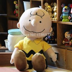 Peanuts Charlie Brown Little Cute Boy Plush Stuffed Toy Doll for Baby Birthday Christmas Gift Doll Collection