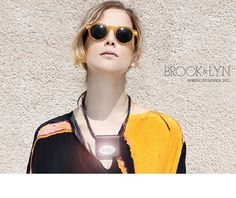 brook & lyn mirror necklaces - reflect light, deflect darkness