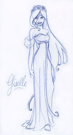 Giselle the First by ~kuabci