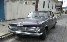1965 Plymouth Valiant - classic Detroit iron