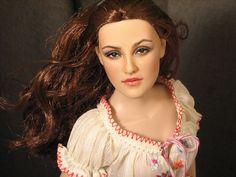 Kristin Stewart doll repaint Twilight Dolls, Doll Repaint, Custom Dolls, Kristen Stewart, Barbie Dolls, Models, Beautiful, Vintage, Fashion