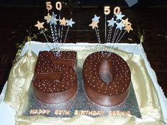50 Years Cake Ideas | Birthday : Cake Decoration Campbelltown : Cakes Campbelltown : Cake ...