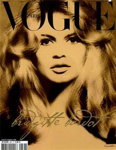cover magazine Brigitte Bardot