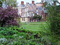Sandringham House- Queen's residence in Norfolk, UK
