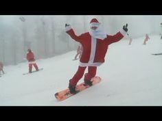 Santa Claus hits the ski slopes for Santa Sunday
