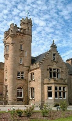 Mansfield Castle in The Highlands of Scotland. Someday I shall go to scotland Scotland Castles, Scottish Castles, Scotland Uk, Beautiful Castles, Beautiful Places, Wonderful Places, The Places Youll Go, Places To See, Château Fort