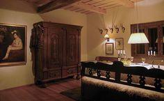 Hunter's lodge dining area - Maramures Lodges, in Maramures, Romania