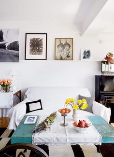 """Artist Maira Kalman's apartment, which she calls a """"cabinet of curiosities"""" and, indeed, it appears to be."""