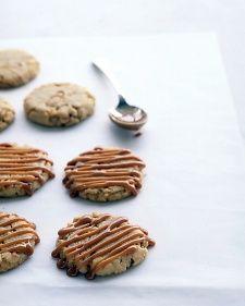 Cashew-Caramel Cookies Recipe | Martha Stewart