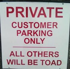 All Others Will be Toad