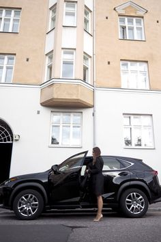 Char and the city - A day with me and the stylish black Lexus car - read… Helsinki, Stylish, City, Travel, Black, Design, Black People, Viajes
