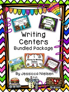 This writing center bundle includes 5 individual writing center products, each with a variety of writing center activities. Each writing center activity includes a poster to leave at each center, writing paper, and all of the graphic organizers, worksheets, editing sheets, and story cards that you will need to make each center run smoothly...
