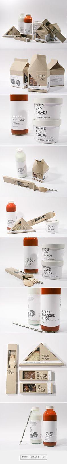 New Leaf Packaging Branding on Behance by Joy Allen