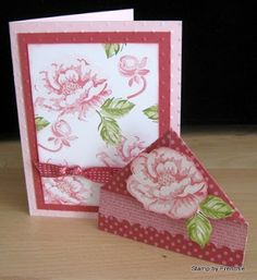 Stamp & Scrap with Frenchie: Bookmark corner for Greeting Card