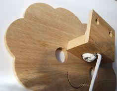 vous douche avec amour lampe bébé nuage heureux par StudioZoethout