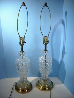Glass oil lamp vintage pressed clear glass raised dots on base brass glass oil lamp vintage pressed clear glass raised dots on base brass ebay pinterest oil lamps aloadofball Gallery